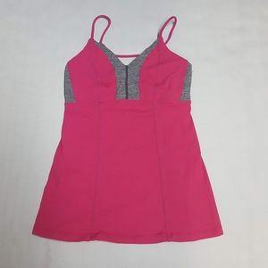 Lululemon Women's 6 Tank Top Pink Gray